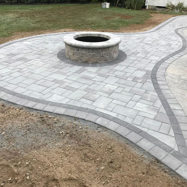 Firepit and patio project